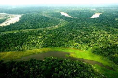 La cote, Les Andes et L'Amazonie