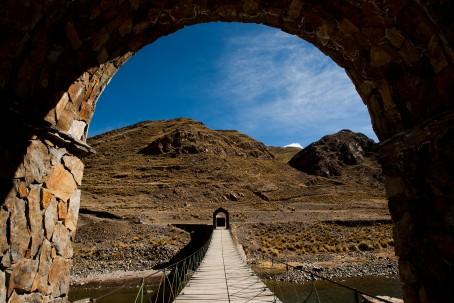 Puente colgante de Sibayo (Custom)