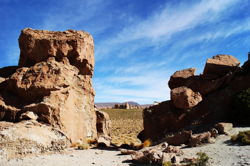 Formations rocheuses - Voyage en Bolivie