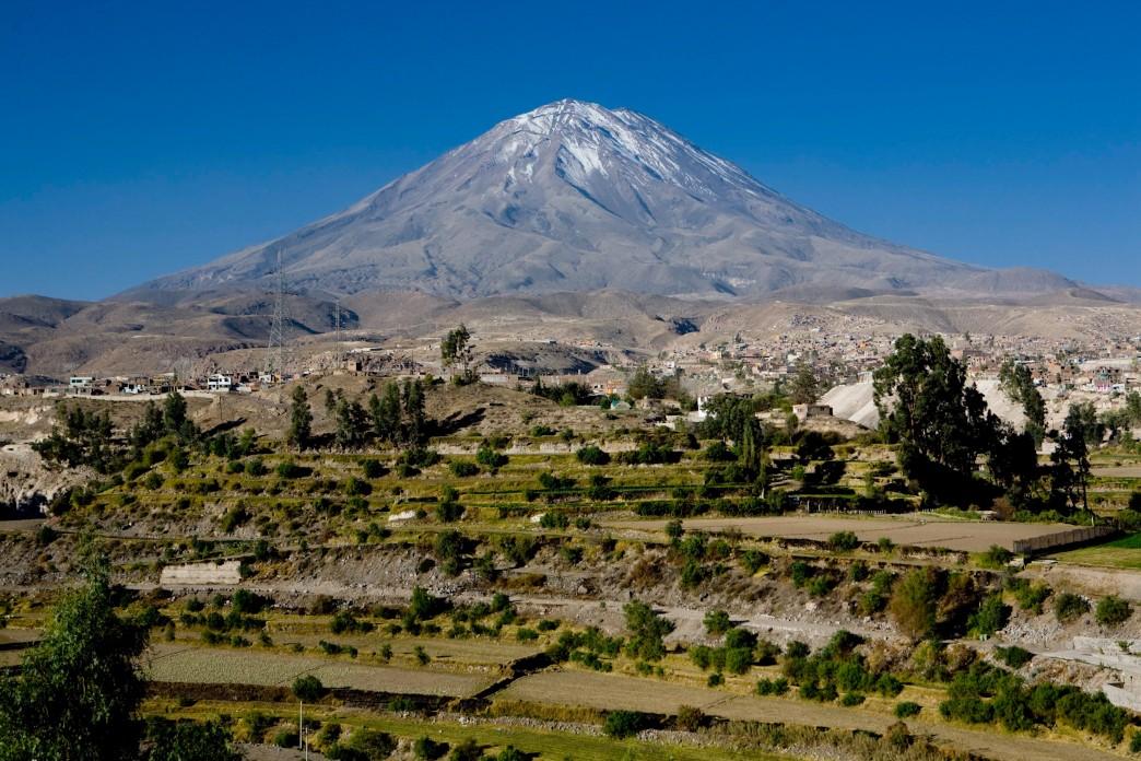 Le volcan Misti - Voyage au Pérou