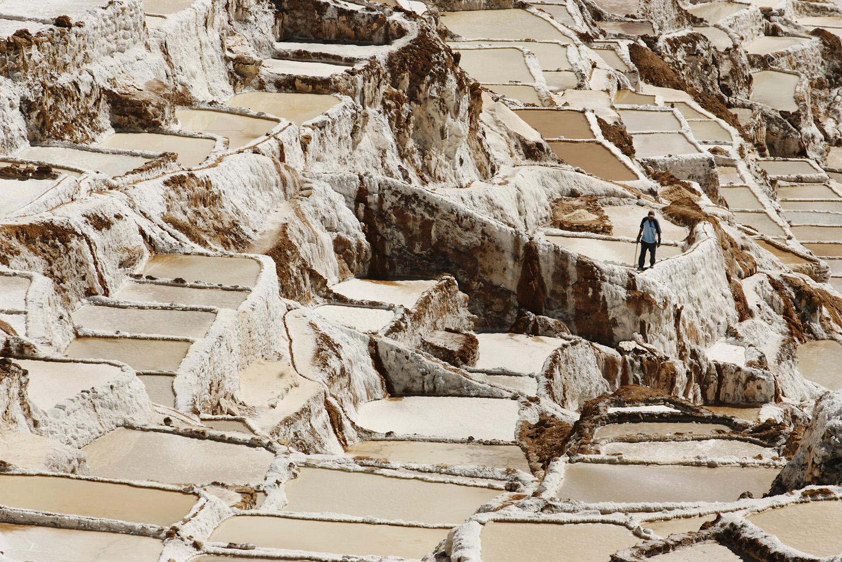 Julio del 2009.Minas de sal y pueblo de Maras.Fotos: Enrique Castro-Mend'vil