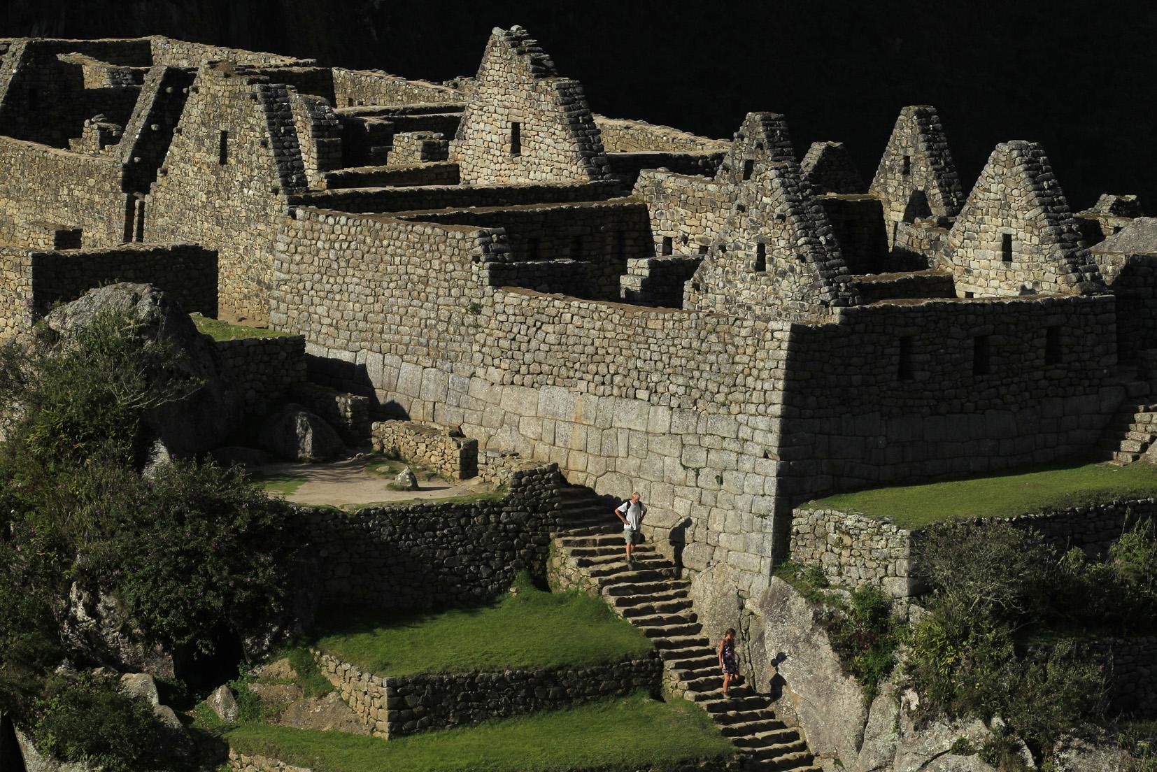 Ciudadela Inca de Machu Picchu, Cuzco, 6 de Diciembre 2011. Foto: Pilar Olivares/Promperu