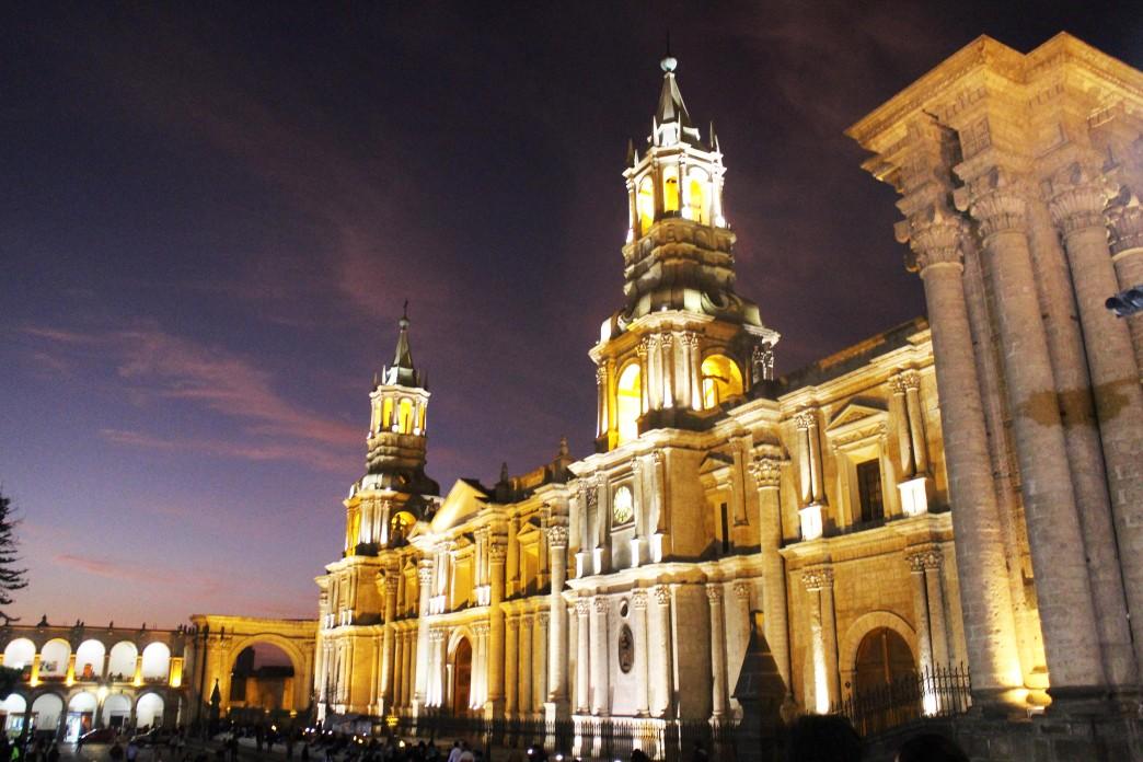 Cathédrale d'Arequipa - Voyage au Pérou