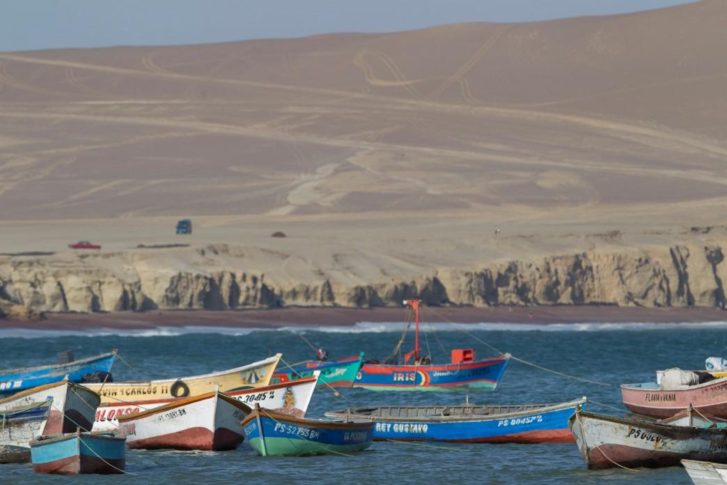 Lagunillas Plage Paracas - Voyage au Pérou