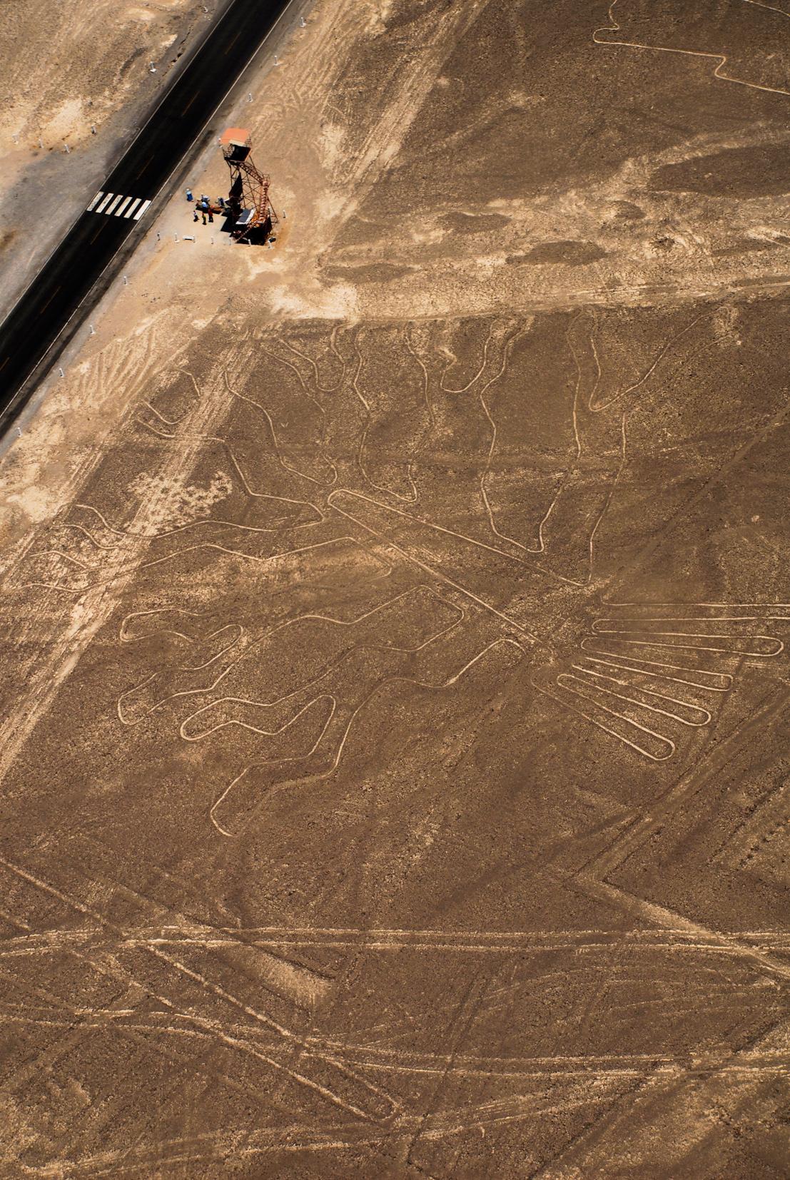 Le mirador des lignes de Nazca - Voyage au Pérou